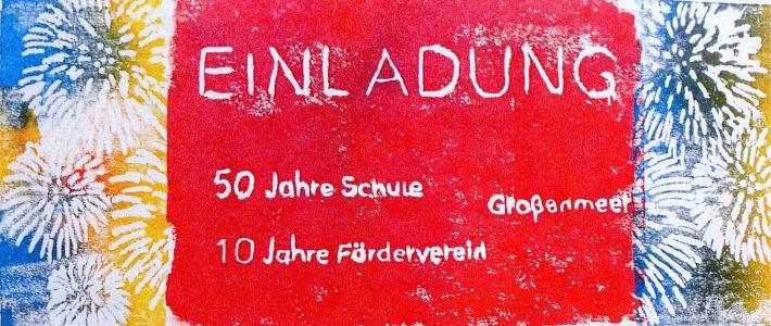 Die Grundschule Großenmeer wird 50!