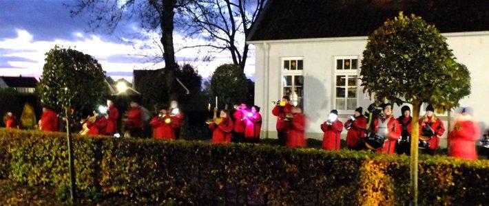 Laternenlauf der Grundschule Großenmeer 2019